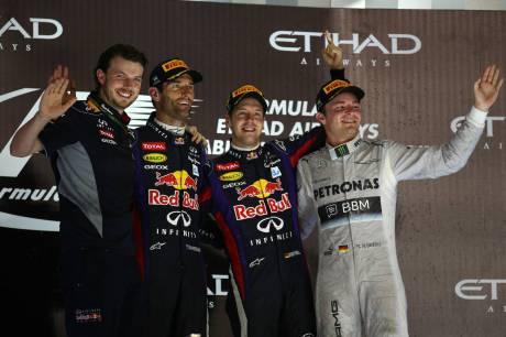 Standings Abu Dhabi Grand Prix of 2013