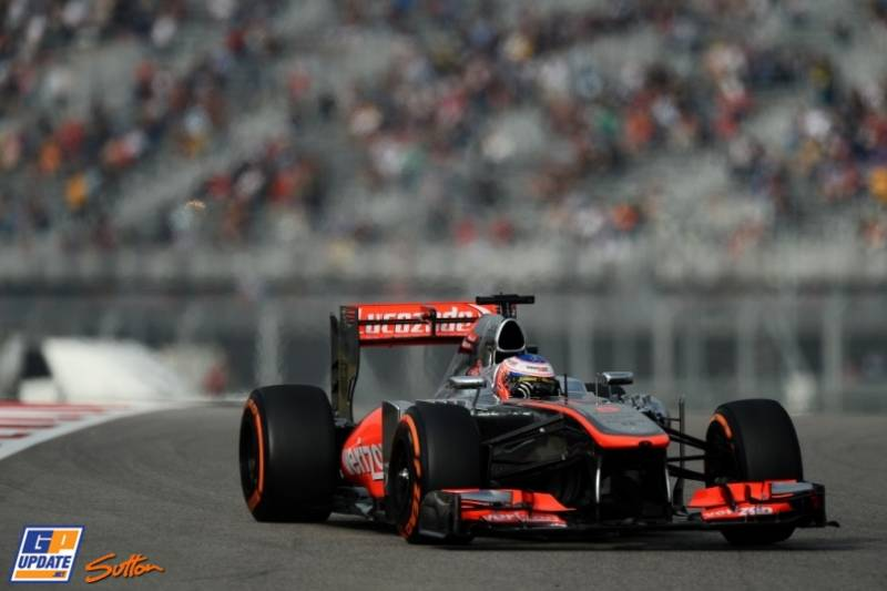 Jenson Button, McLaren Mercedes, MP4-28
