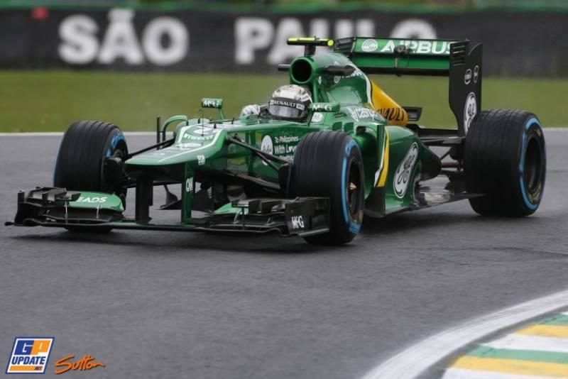 Giedo van der Garde, Caterham F1 Team, CT02