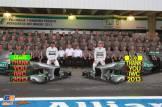 Nico Rosberg and Lewis Hamilton, Mercedes AMG F1 Team, F1 W04