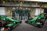 Giedo van der Garde and Charles Pic, Caterham F1 Team, CT02