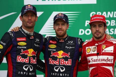 Standings Brazilian Grand Prix of 2013