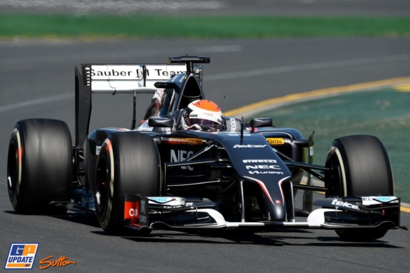 Adrian Sutil, Sauber F1 Team, C33