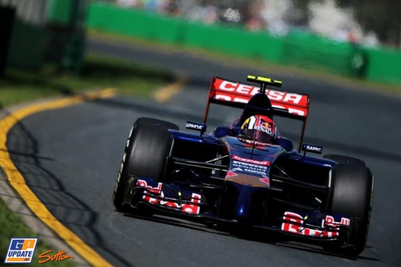 Daniil Kyvat, Scuderia Toro Rosso, STR9