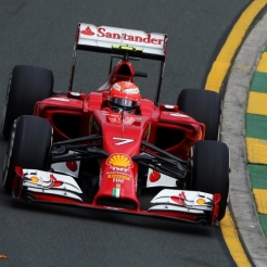 Kimi Räikkönen, Scuderia Ferrari, F14 T
