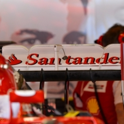 Rear Wing for the Scuderia Ferrari F14 T