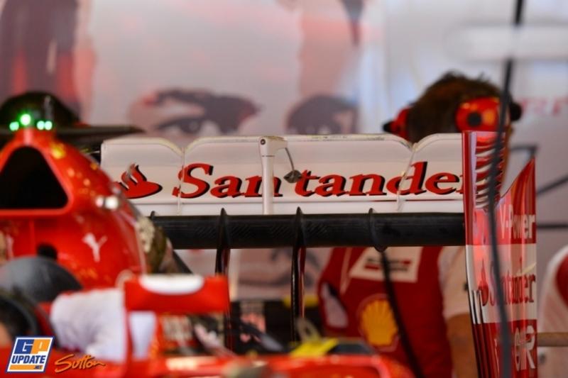 Rear Wing for the Scuderia Ferrari F14 T