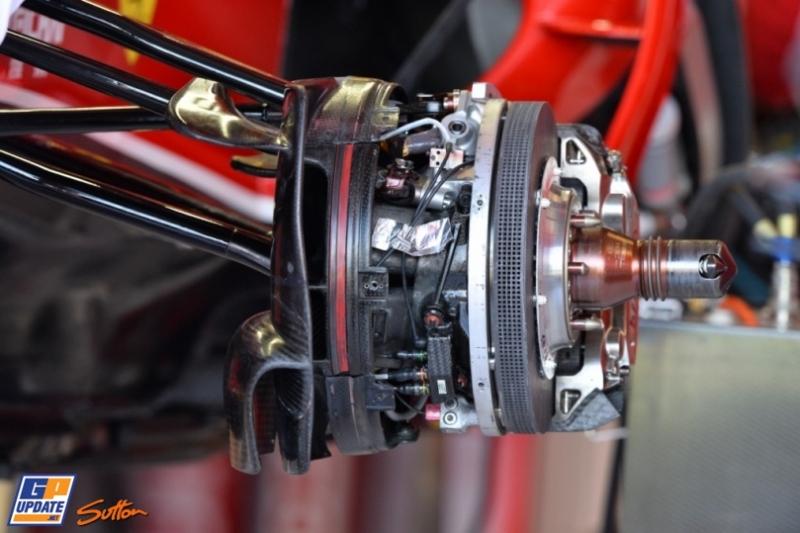 Front Wheel Suspension for the Scuderia Ferrari F14 T