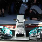 Front Wing for the Mercedes AMG F1 Team F1 W05