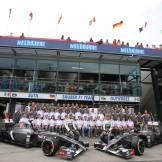 Adrian Sutil and Esteban Gutiérrez, Sauber F1 Team, C33