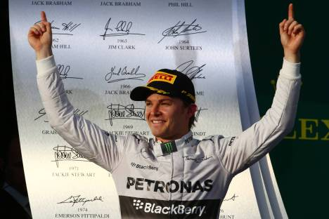 Standings Australian Grand Prix of 2014
