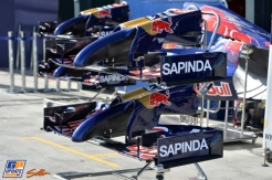 Front Wings for the Scuderia Toro Rosso STR9
