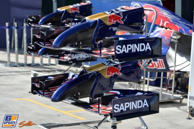 Front Wings for the Scuderia Toro Rosso STR9
