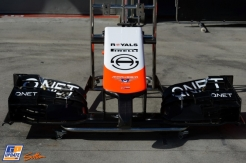 Front Wing for the Marussia F1 Team MR03