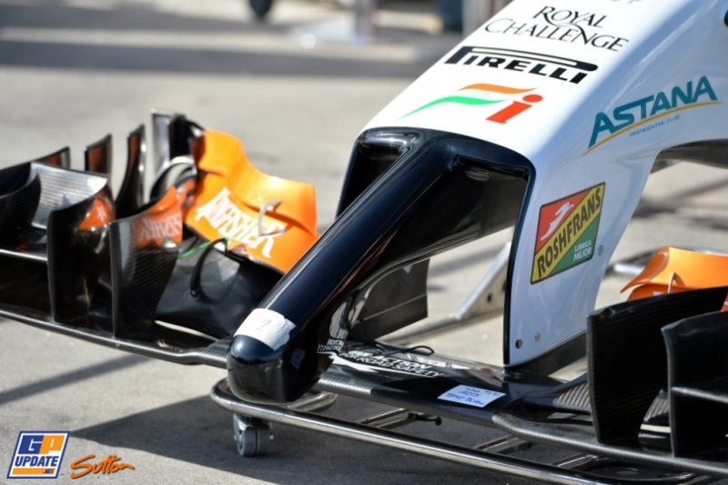 Front Wing for the Force India F1 Team VJM07