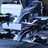 Front Wings for the Sauber F1 Team C33