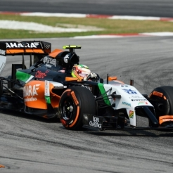 Sergio Perez, Force India F1 Team, VJM07