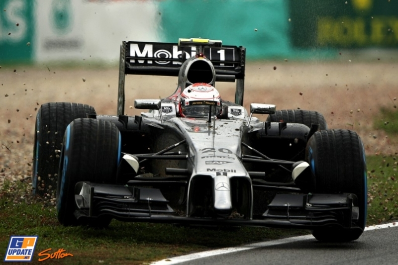 Kevin Magnussen, McLaren Mercedes, MP4-29