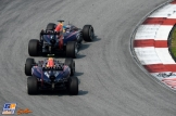 Daniel Ricciardo and Sebastian Vettel (Red Bull Racing, RB10)