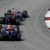 Daniel Ricciardo and Sebastian Vettel (Red Bull Racing, RB10)