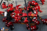 Pit Stop for Kimi Räikkönen (Scuderia Ferrari F14 T)