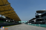 The Main Straight on the Sepang International Circuit