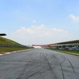 A Straight on the Sepang International Circuit
