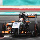 Nico Hülkenberg, Force India F1 Team, VJM07