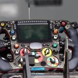 Steering Wheel for the Sauber F1 Team C33