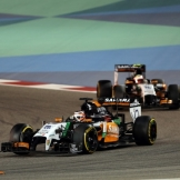 Nico Hülkenberg and Sergio Perez, Force India F1 Team, VJM07