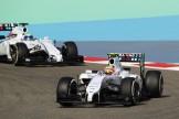 Felipe Nasr and Felipe Massa, Williams F1 Team, FW36