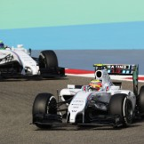 Felipe Nasr and Felipe Massa, Williams F1 Team, FW36