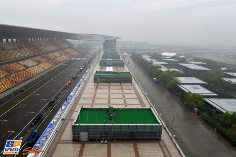 The Grand Stand, The Main Straight, The Pits and The Paddock