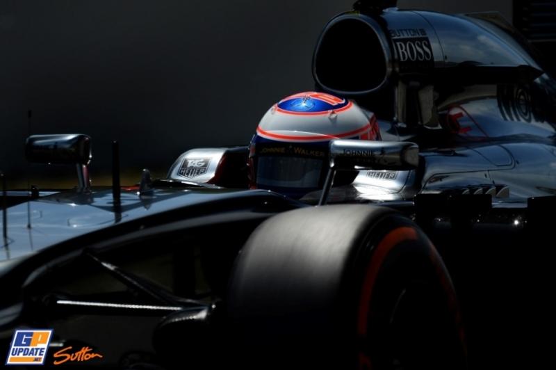 Jenson Button, McLaren Mercedes, MP4-29