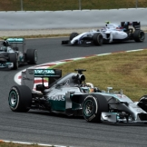 Lewis Hamilton and Nico Rosberg, Mercedes AMG F1 Team, F1 W05