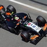 Sergio Pérez, Force India F1 Team, VJM07