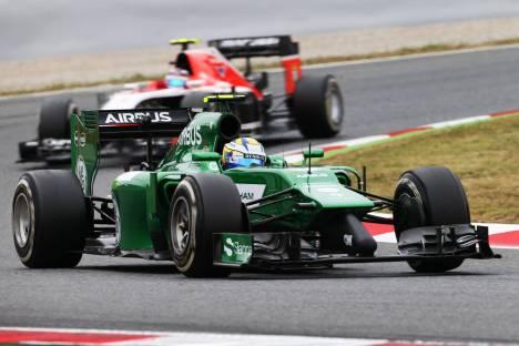 Standings Spanish Grand Prix of 2014