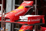 Front Wings for the Scuderia Ferrari F14 T