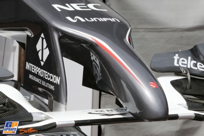 Front Wing for the Sauber F1 Team C33
