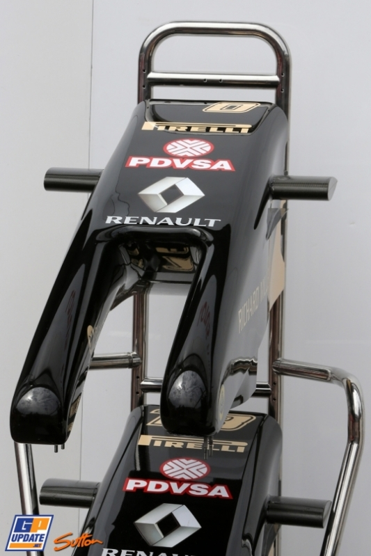 Front Wings for the Lotus F1 Team E22