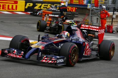 Standings Monaco Grand Prix of 2014