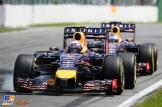 Sebastian Vettel and Daniel Ricciardo, Red Bull Racing, RB10