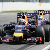 Sebastian Vettel and Daniel Ricciardo, Red Bull Racing, RB10