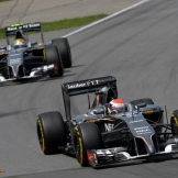 Adrian Sutil and Esteban Gutiërrez, Sauber F1 Team, C33