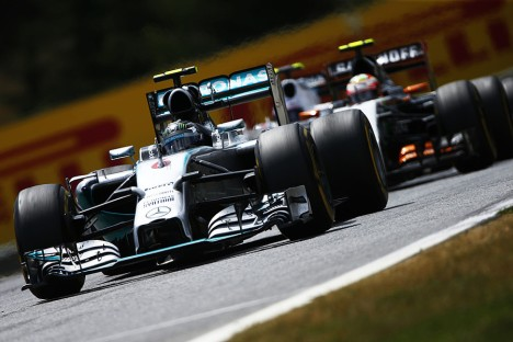 Statistics Austrian Grand Prix of 2014