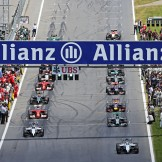 The Start of the Formation Lap