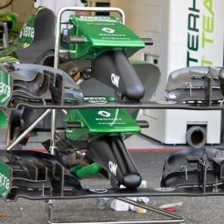 Bodywork and Front Wings for the Caterham F1 Team