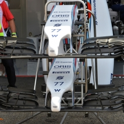 Bodywork and Front Wings for the Williams F1 Team