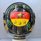 The One Time Only Helmet for Nico Rosberg
