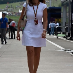 Girl in the Paddock